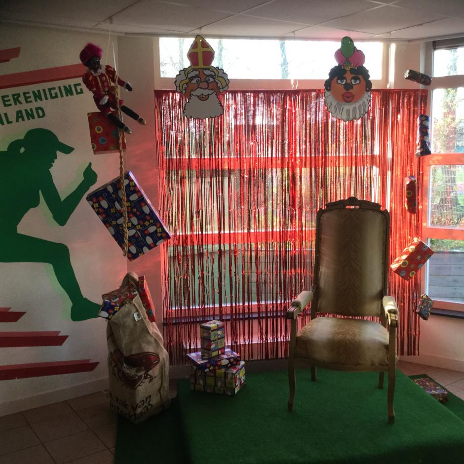 Welkom Sinterklaas en Pieterbaas