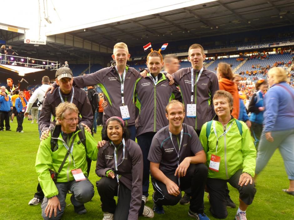 G atleten succesvol tijdens de Special Olympics